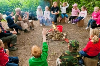 Forest School (c) Helen Walsh
