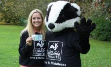 Charlotte and Bertie the Badger